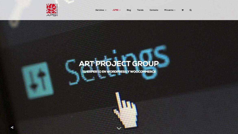 Nuevo diseño web de Art Project Group