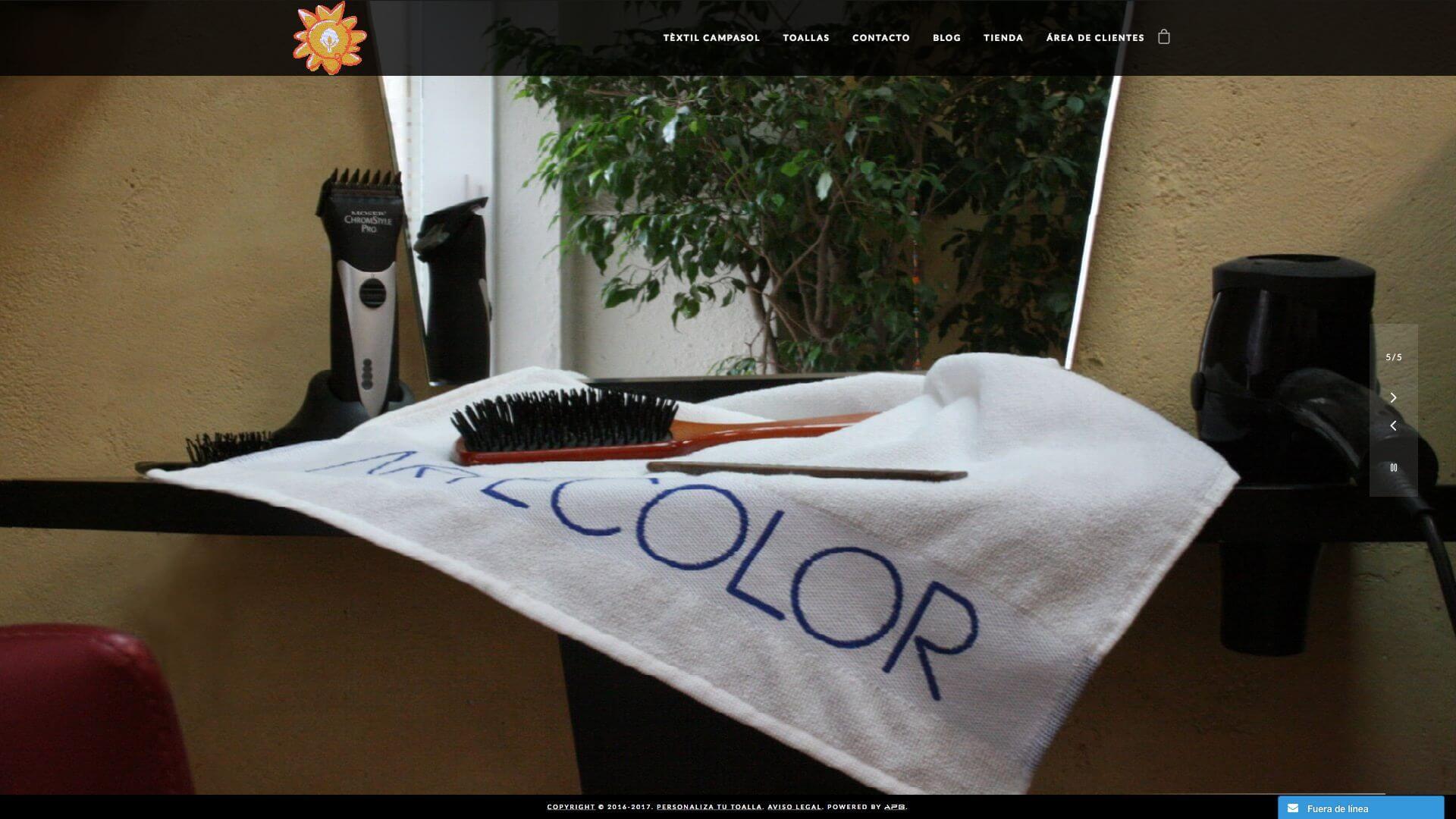 Personaliza tu toalla
