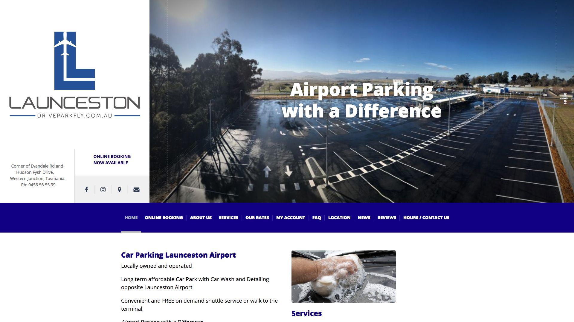 Launceston Drive Park Fly