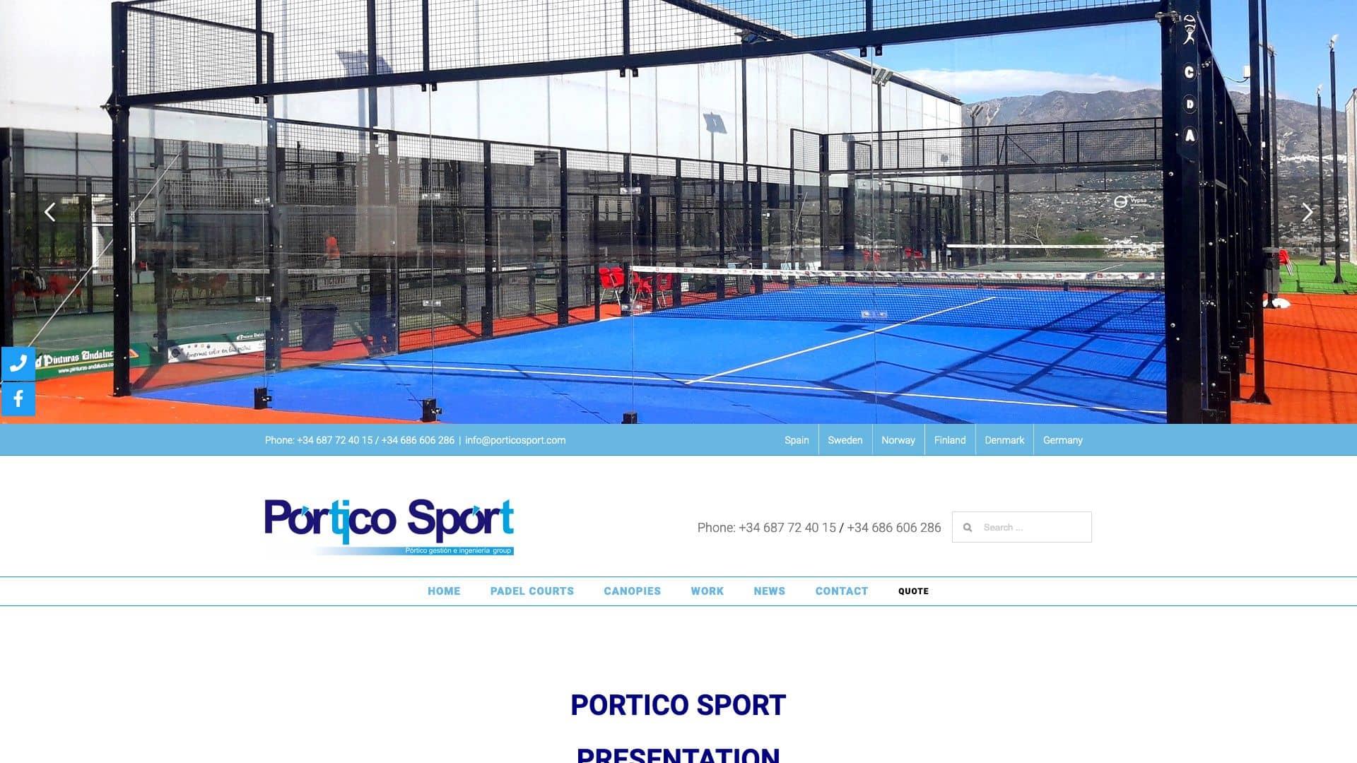 Pórtico Sport
