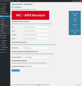 WC - APG Navision