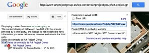 Obteniendo el mapa personalizado en Google Maps