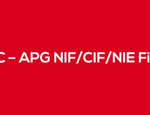 WC - APG NIF/CIF/NIE Field ahora soporta el número VIES