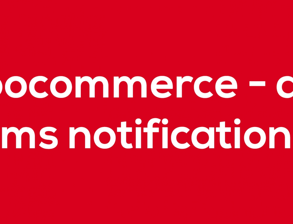 Twizo patrocina WooCommerce – APG SMS Notifications